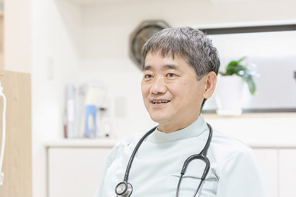 患者様のお体のことを一番良く知るドクター